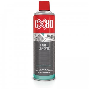 Preparat do usuwania naklejek LABEL REMOVER CX80 500ml