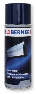 Spray ALU-CYNK srebrno-szary BERNER 400ml